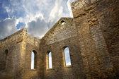 Ruínas de uma igreja no sul glengarry, ontário — Foto Stock