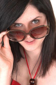 Closeup portrait of girl. — Stock Photo
