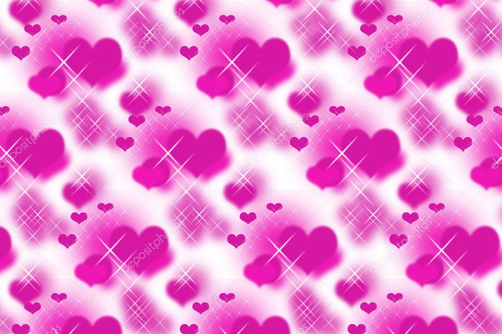 pink stars hearts wallpaper - photo #38