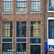 Dutch house with windows — Stock Photo