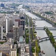 Paris from the heights — Stock Photo