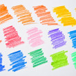 Colored pencil strokes — Stock Photo #5973848