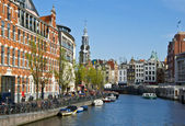 Typical Amsterdam architecture — Stock Photo