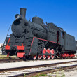 Steam locomotive — Stock Photo #6460134