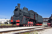 Locomotiva a vapore — Foto Stock