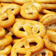 Stock Photo: Background of pretzels