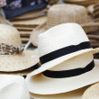 White hats — Stock Photo