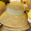 Straw hats - Stock Photo