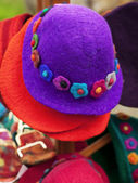 Colorful hats — Stock Photo