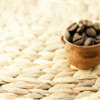 Stock Photo: Coffee beans in small jug