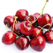 Cherries isolated on white — Stock Photo
