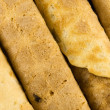 Stock Photo: Wafer rolls