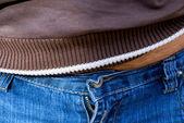 Hommes en jeans — Photo