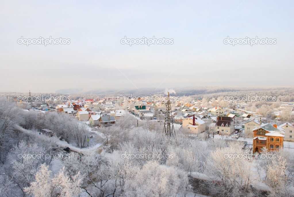 A beautiful winter landscape — Stock Photo #6012028