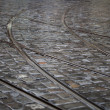 Cobbles and Tramways background — Stock Photo #6059197
