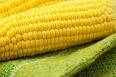 Corn lying on the mat — Stock fotografie