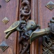 Forged door knob — Stock Photo #6071080