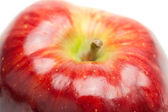 Red apple isolated on white — Foto de Stock