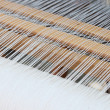 Stock Photo: Background of loom at fair