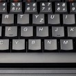 Laptop keyboard close-up — Stock Photo