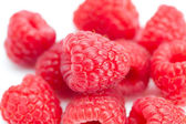 Raspberry isolated on white — Stok fotoğraf