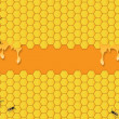 Bees Background — Stock Vector