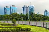 Jakarta Skyline — Stock Photo