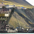Stock Photo: Old industrial port in svalbard