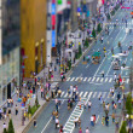 Tokyo pedestrian zone — Stock Photo #5983524