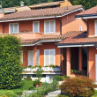 Stock Photo: Italitownhouses style