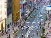 Tokyo pedestrian zone — Stock Photo