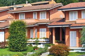 Italian townhouses style — Stock Photo