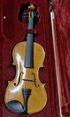 Violin in case — Stock Photo