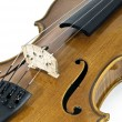 Stock Photo: ItaliViolin Chord details