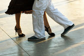 Tango on the street — Stock Photo