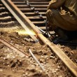 railroad maintenance — Stock Photo