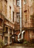 Decadencia urbana — Foto de Stock
