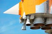 ракетные двигатели — Стоковое фото