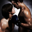 Two boxers — Stock Photo #5736839