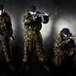 Armed man - Stock Photo