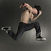 Poz dansçı — Stok fotoğraf