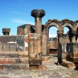 Ruins of Zvartnots Temple, Armenia — Stock Photo