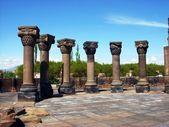Ruins of Zvartnots Temple, Armenia — Stock Photo