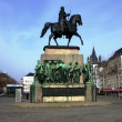 Statue of Frederick William III, Cologne — Stock Photo