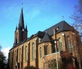 St. dionysius kyrka, gleuel-hurth, köln, tyskland — Stockfoto
