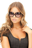 Lovely woman in shades — Stock Photo