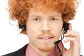 热线服务电话 — 图库照片