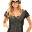 Lovely woman in shades — Stockfoto #5459581