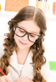Elementary school student — Stock Photo