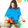 Holiday shopper — Stock Photo #5501981